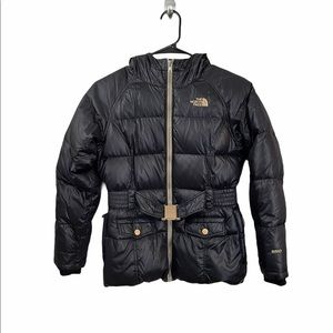 Girls goose down north face coat